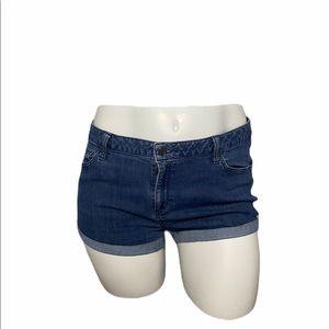 Sonoma Skinny Jean Cutoff Shorts Size 18